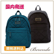 SALE 国内発送 MARC JACOBS Quilted Nylon Backpack ナイロン3色