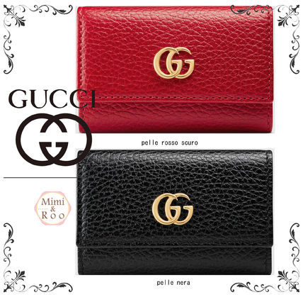 GUCCI key case staple items * thick * cool