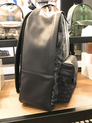 Coach バックパック・リュック 【Coach】背面ムレ防止Charles backpack/F59322☆ハワイアン柄(2)
