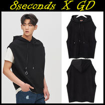 8 SECONDS(エイトセカンズ) Tシャツ・カットソー 8 X GD's PICK★8seconds★SLEEVELESS HOOD TOPフードトップ