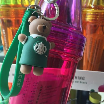 Starbucks with charm by color bottle