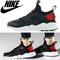 【NIKE】AIR HUARACHE RUN ULTRA GS-BLACK/ORANGE