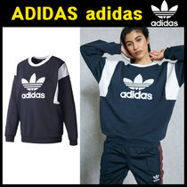 無料配送★adidas★Trefoil Sweater NAVY[BJ8298]