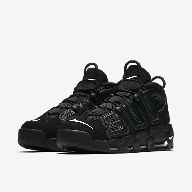 【NIKE】SUPREME × AIR MORE UPTEMPO 902290-001 26or26.5cm