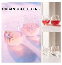 Urban Outfitters☆Rainbow Stemless Wine Glasses Set☆グラス