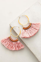 【Anthropologie】新作!お洒落Turaco Hoopピアス・Pink