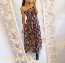 roomIVY新作♥たっぷりフレアのVintage Flower Dress