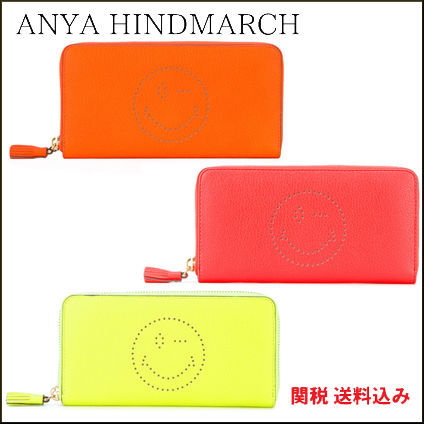 From the 17 spring summer ANYA HINDMARCH Wink a long wallet