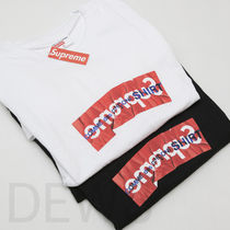 17SS Supreme Comme Des Garcons Box Logo Tee 送込 ギャルソン