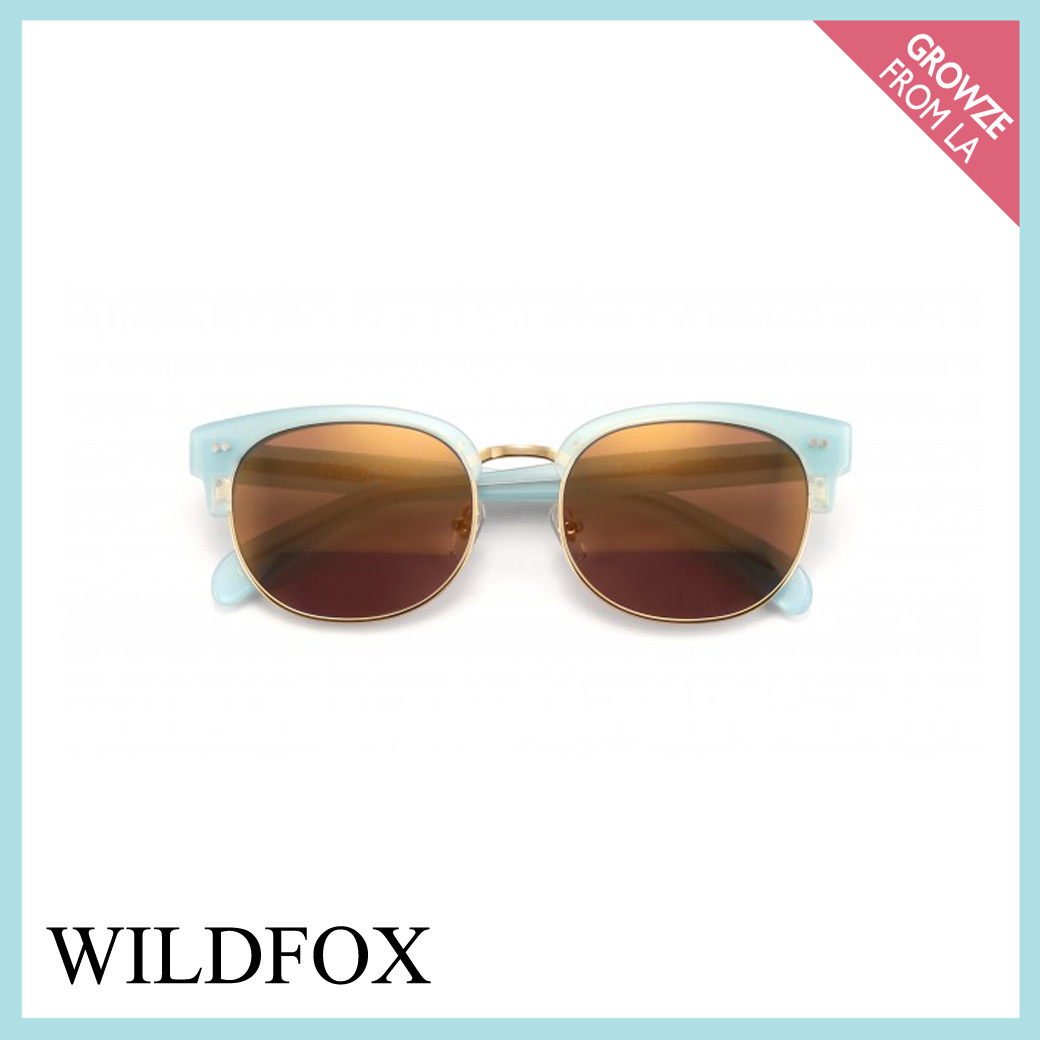 【WILDFOX】新作!CLUBHOUSE DELUXE ブルー サングラス★