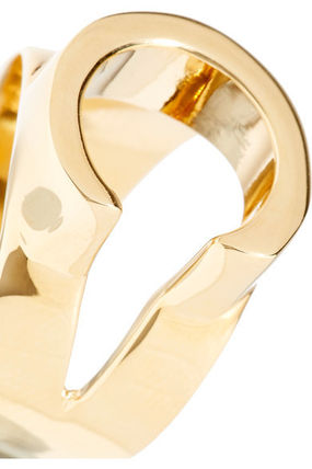 Chloe 指輪・リング ★関税負担★CHLOE★ALPHABET GOLD-TONE RING(6)