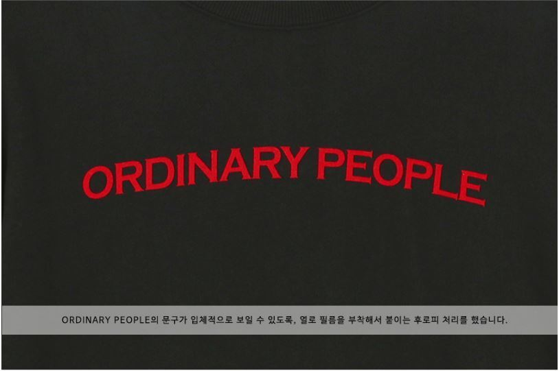 日本未入荷Ordinary PeopleのORDINARY LAYERED MTM BLACK SHIRT