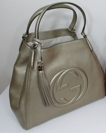 GUCCI★セール★SMALL GOLD SOHO SHOULDER BAG