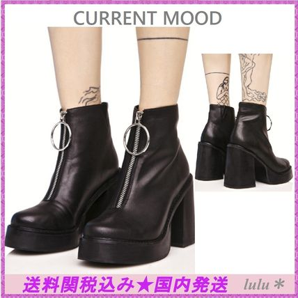 DOLLS KILL CURRENT MOOD O ringfrontofasner platform boots