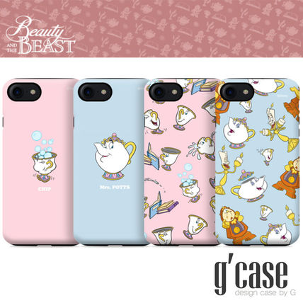 Disney iPhone・スマホケース Disney正品★美女と野獣!iPhone GUARD UP CASE Series 12種類