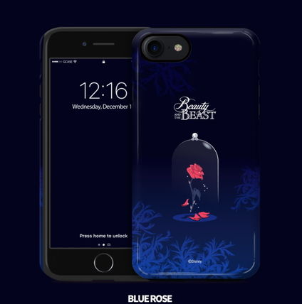 Disney iPhone・スマホケース Disney正品★美女と野獣!iPhone GUARD UP CASE Series 12種類(11)