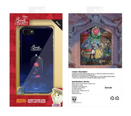 Disney iPhone・スマホケース Disney正品★美女と野獣!iPhone GUARD UP CASE Series 12種類(13)