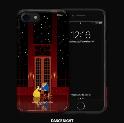 Disney iPhone・スマホケース Disney正品★美女と野獣!iPhone GUARD UP CASE Series 12種類(17)