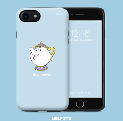 Disney iPhone・スマホケース Disney正品★美女と野獣!iPhone GUARD UP CASE Series 12種類(3)