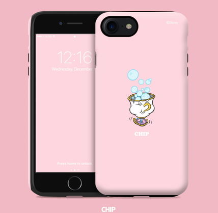 Disney iPhone・スマホケース Disney正品★美女と野獣!iPhone GUARD UP CASE Series 12種類(4)