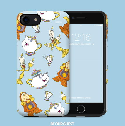 Disney iPhone・スマホケース Disney正品★美女と野獣!iPhone GUARD UP CASE Series 12種類(5)