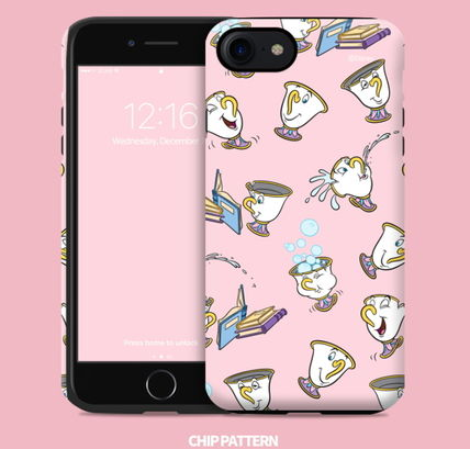 Disney iPhone・スマホケース Disney正品★美女と野獣!iPhone GUARD UP CASE Series 12種類(6)