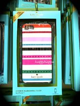 【kate spade】iPhone6,6s/7用☆キラキラJEWELED FIESTA STRIPE