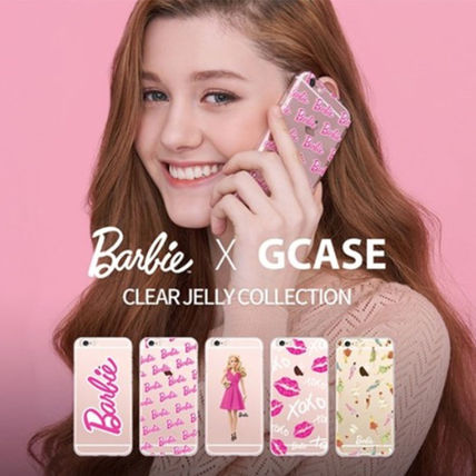 Barbie スマホケース・テックアクセサリー Barbie(バービー)正品★ IPhone Jelly Collection 8種類~