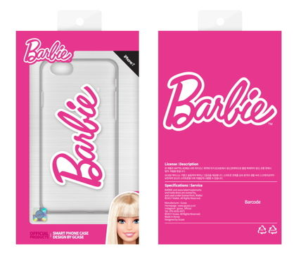 Barbie スマホケース・テックアクセサリー Barbie(バービー)正品★ IPhone Jelly Collection 8種類~(7)