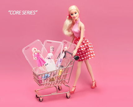 Barbie スマホケース・テックアクセサリー Barbie(バービー)正品★ IPhone Jelly Collection 8種類~(2)