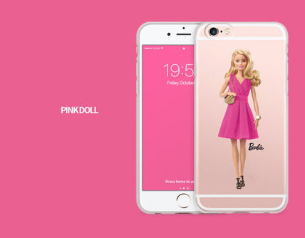 Barbie スマホケース・テックアクセサリー Barbie(バービー)正品★ IPhone Jelly Collection 8種類~(3)