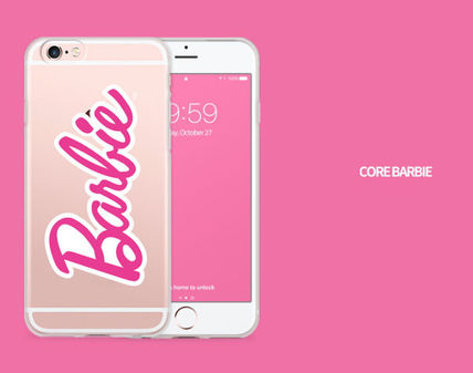 Barbie スマホケース・テックアクセサリー Barbie(バービー)正品★ IPhone Jelly Collection 8種類~(4)