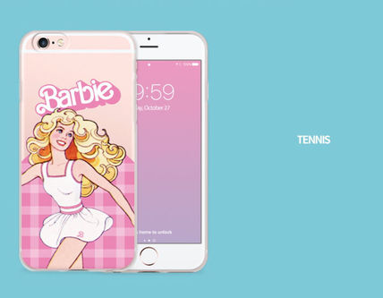 Barbie スマホケース・テックアクセサリー Barbie(バービー)正品★ IPhone Jelly Collection 8種類~(6)