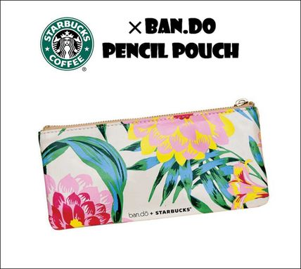 Starbucks × ban.do pen PU floral Taiwan direct