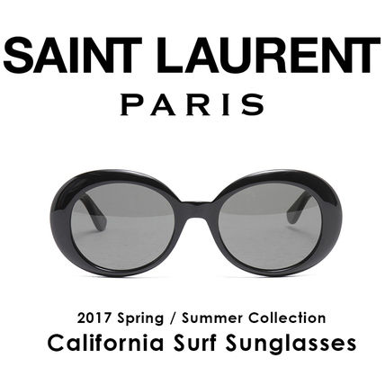 Saint Laurent California Oval sunglasses BL