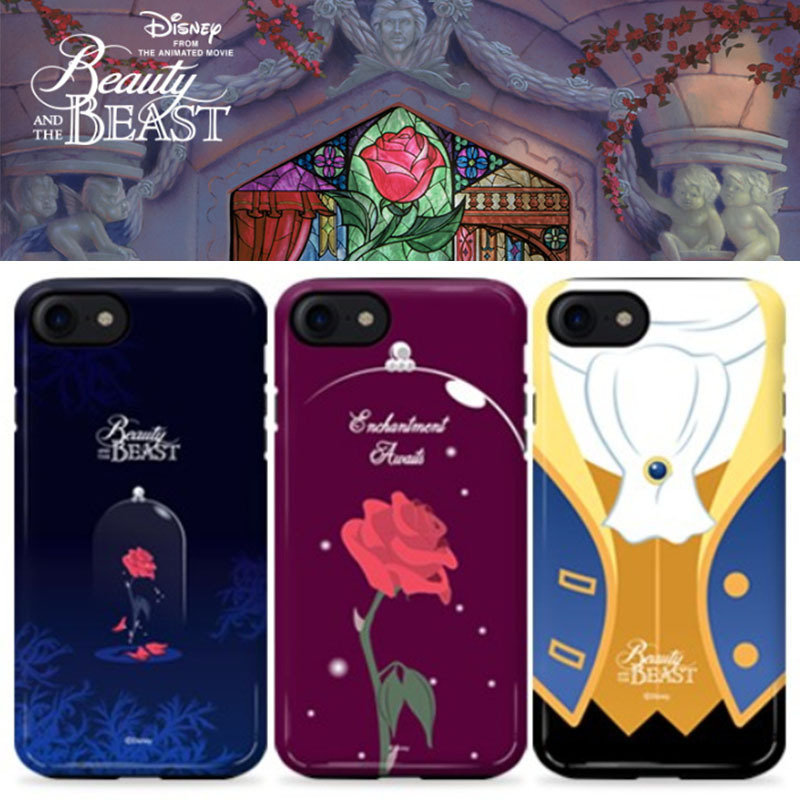 Disney正品★美女と野獣!iPhone GUARD UP CASE Series 12種類