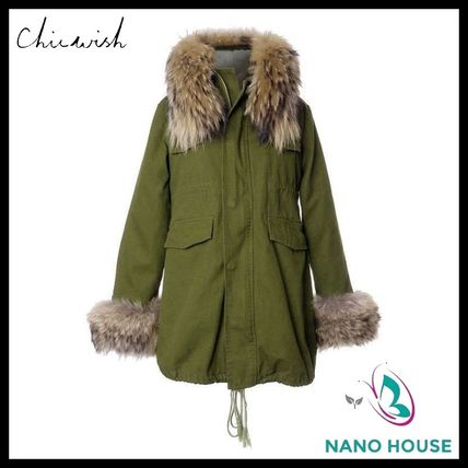 Chicwish liner with fur coat