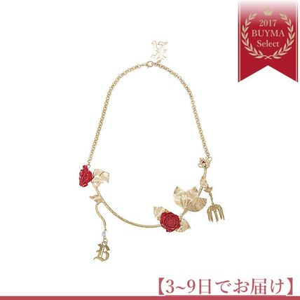 Soon reach rose chain necklace