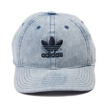 *adidas*色落ちデニムキャップ Trefoil Relaxed Dad Cap