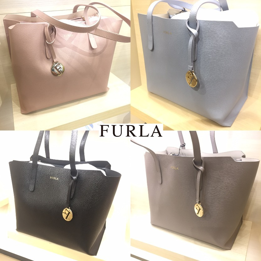 furla 2017 ss saffiano a4 plain office style totes by. Black Bedroom Furniture Sets. Home Design Ideas