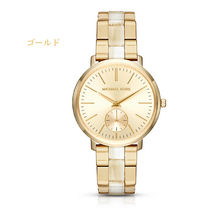 【レア☆人気作】Jaryn Gold-tone & Acetate Watch MK3510