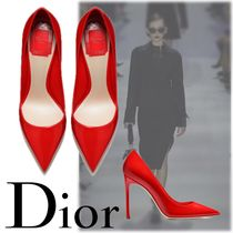 送料関税込☆2017CRUISE Dior RED PATENT CALFSKIN LEATHER PUMP
