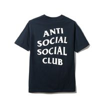 送料無料!2017SS ANTI SOCIAL SOCIAL CLUB /  OMW NAVY SHIRT