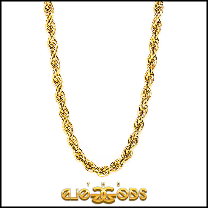 "Tyga愛用 ""The Gold Gods"" Rope Chain ネックレス"