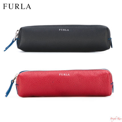 FURLA leather pen case