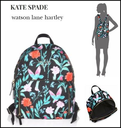【Kate Spade】watson lane hartley★花柄バックパック