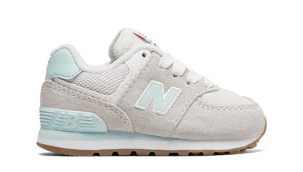 New Balance 574 Resort Sporty light grey / blue 12-16.