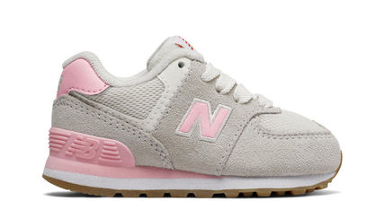 New Balance 574 Resort Sportyライトグレー/ピンク(12~16.5cm)
