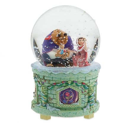 Snow Globes Disney beauty and the beast-Beauty and the Beast
