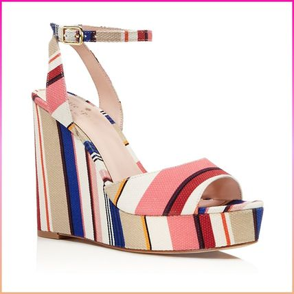 kate spade new york サンダル・ミュール 【国内発送】DELLIE WEDGES SANDALSセール(2)